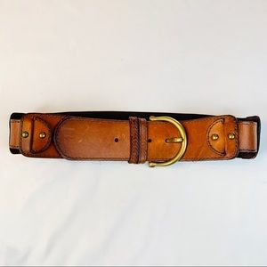 FOSSIL Stretchy Leather Belt